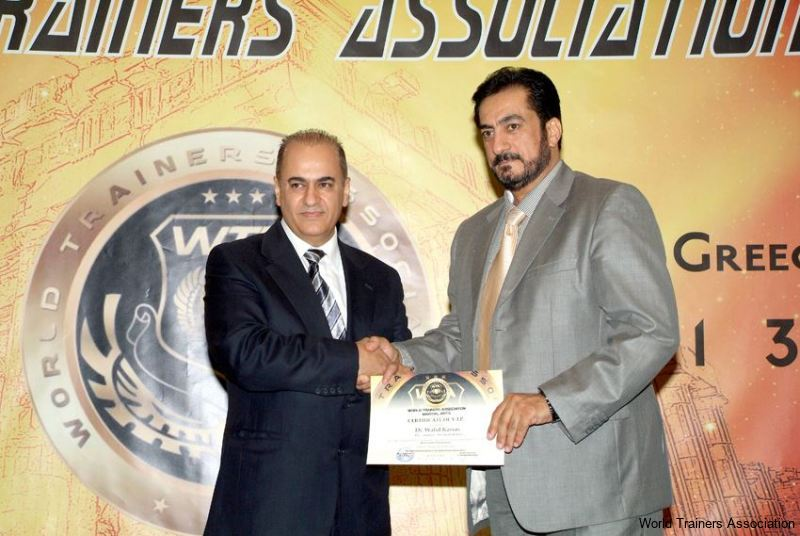 Awarding Dr. Walid Kassas in the WTA Competition of 2013