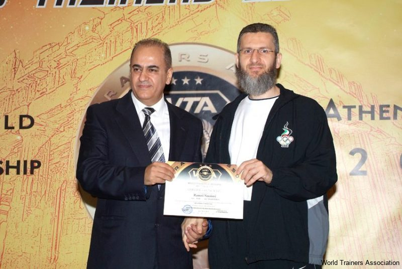 Awarding Mr. Ramzi Nuaimi in the WTA Competition of 2013