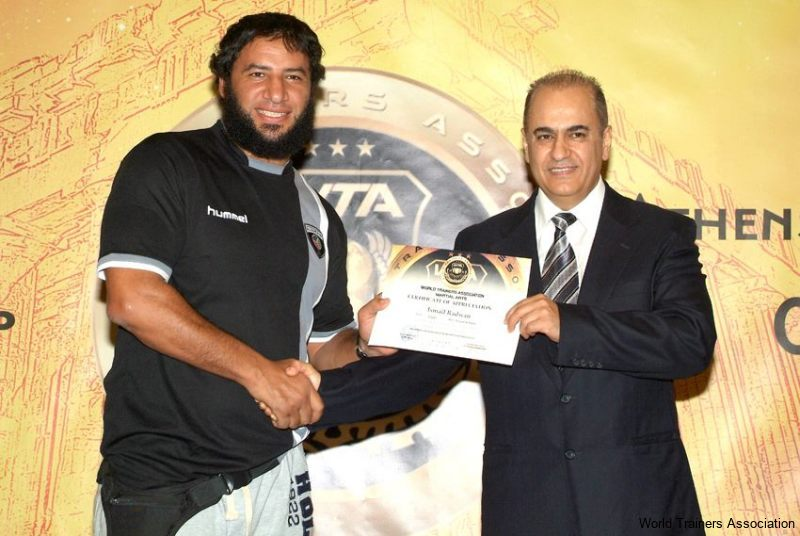 awarding mr. ismail radwan from egypt in the wta competition of 2013