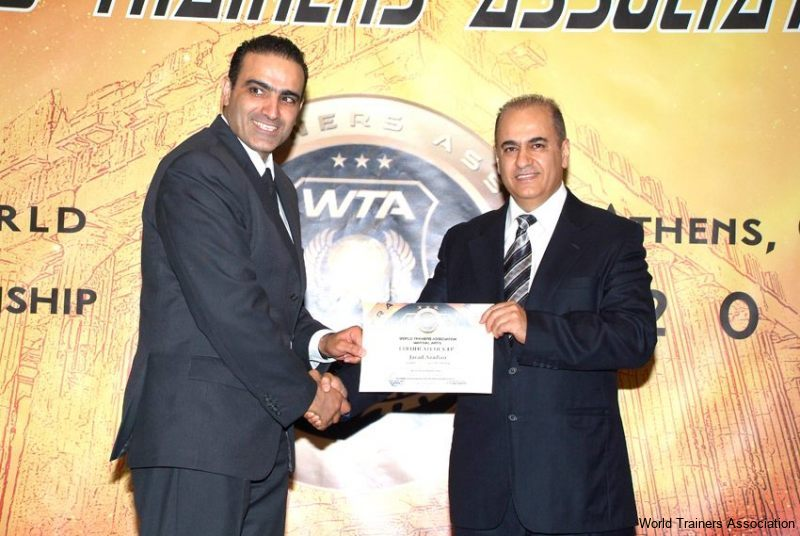 awarding mr. javad azadian from iran in the wta competition of 2013