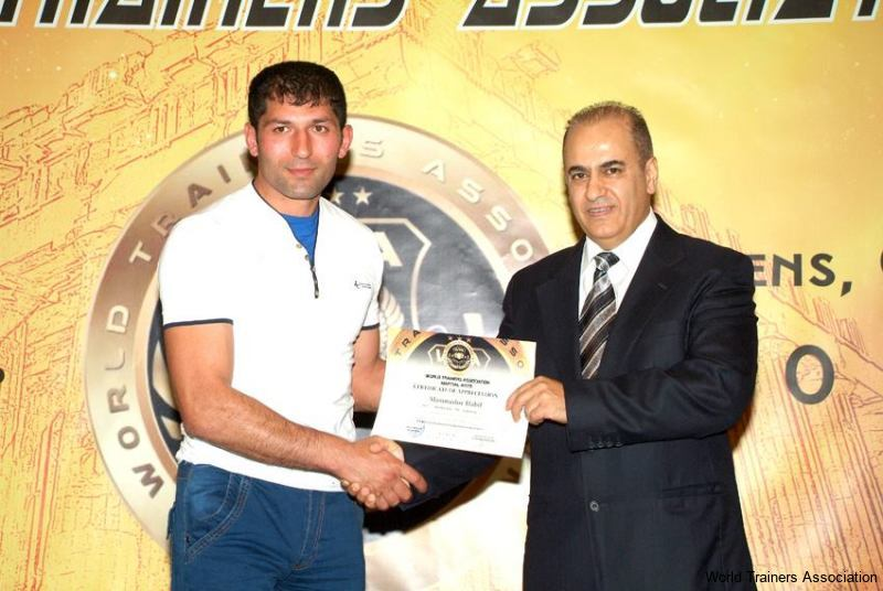 awarding mr. mammadov habil from azerbaijan in the wta competition of 2013