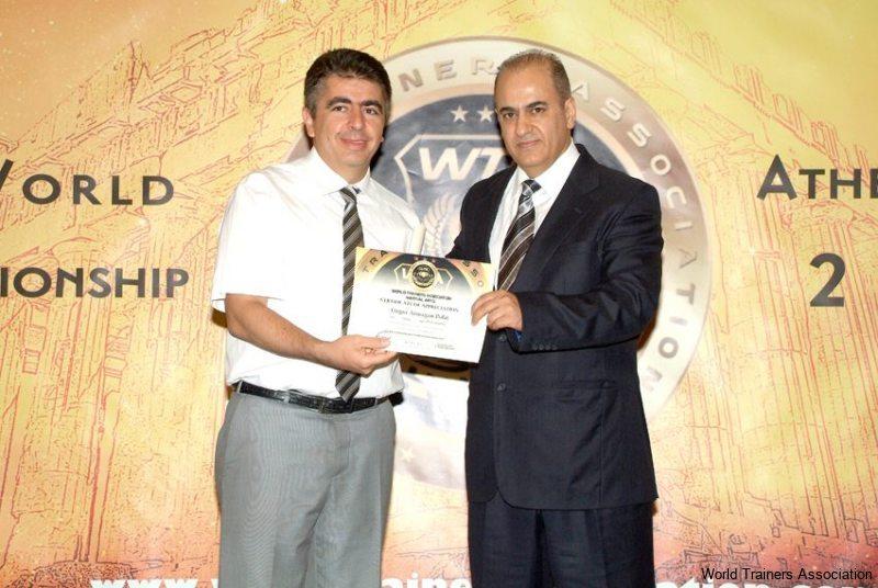 awarding mr. ozgur armagan polat from turkey