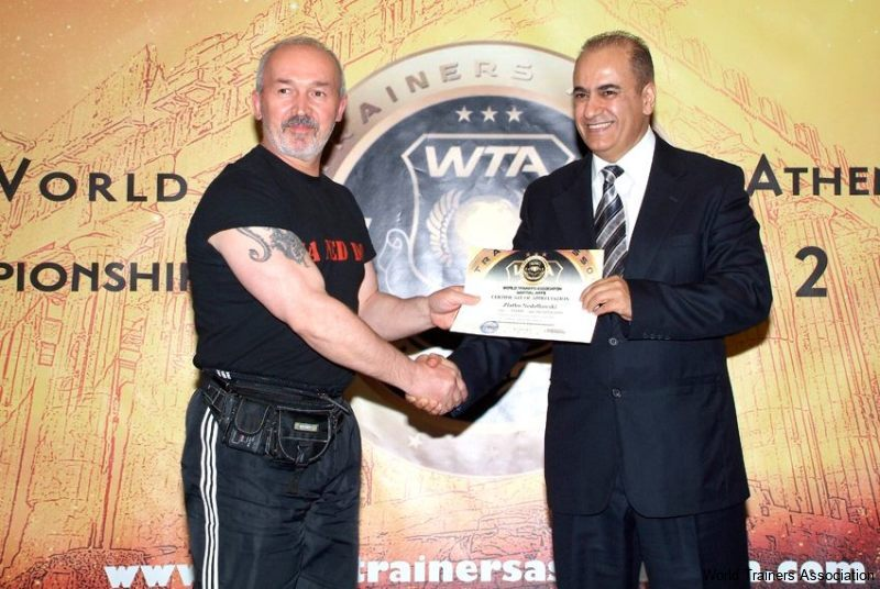 awarding mr. zlatko nedelkovski from f.y.r.o.m. in the wta competition of 2013